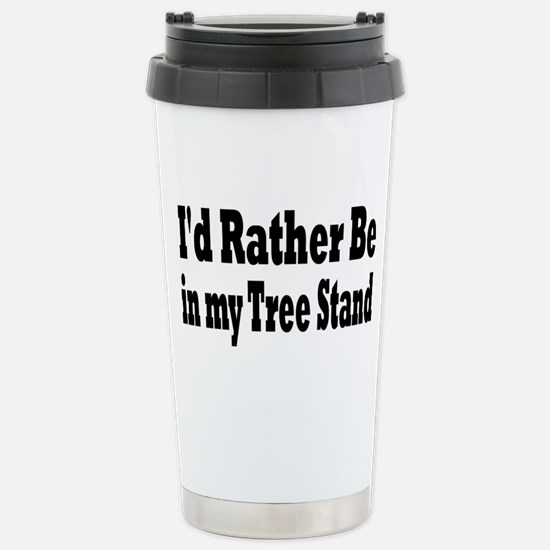 Deer Stainless Steel Travel Mug