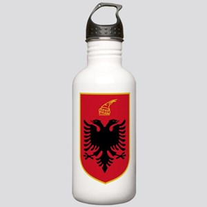 Albania Coat Of Arms Stainless Water Bottle 1.0L