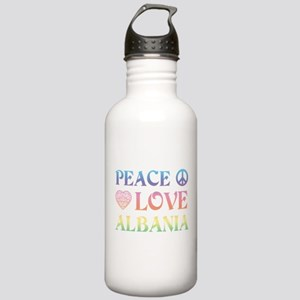 Peace Love Albania Stainless Water Bottle 1.0L