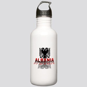 3D Albania Stainless Water Bottle 1.0L
