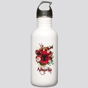 Butterfly Albania Stainless Water Bottle 1.0L