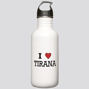I Love Tirana Stainless Water Bottle 1.0L
