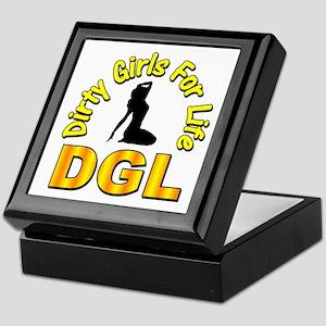 Dirty Girls For Life Keepsake Box