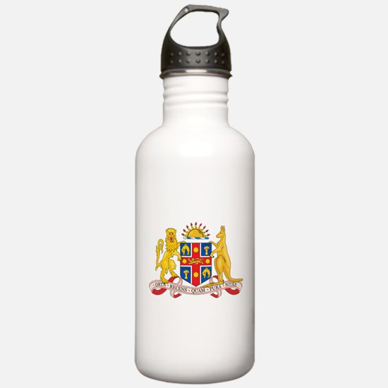 New South Wales Coat Of Arms Water Bottle