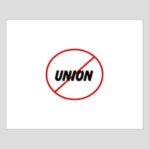 no union Small Poster