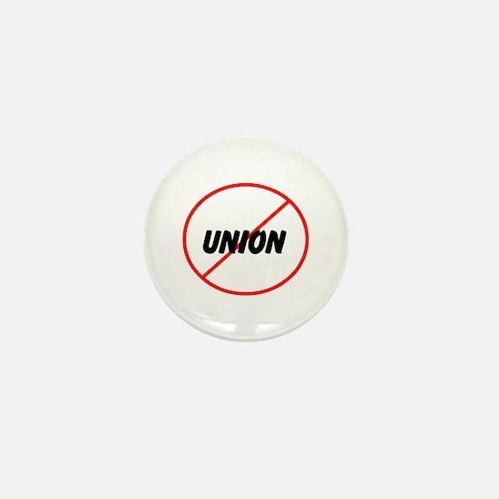 no union Mini Button