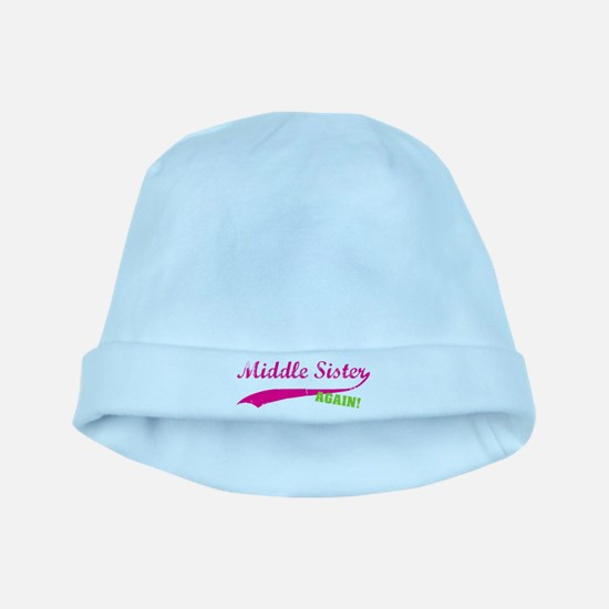 Middle Sister Again baby hat