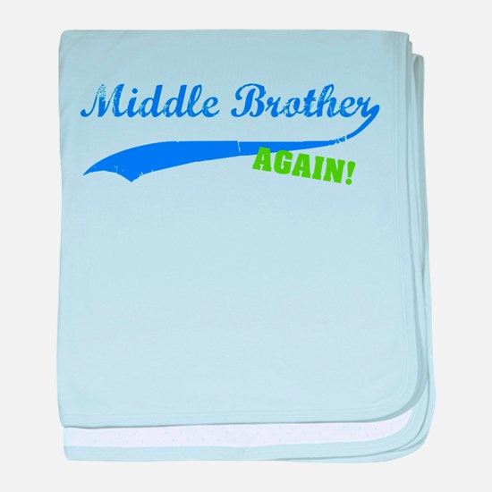 Middle Brother Again baby blanket