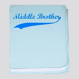 Middle Brother baby blanket