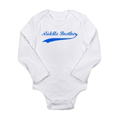 Middle Brother Long Sleeve Infant Bodysuit