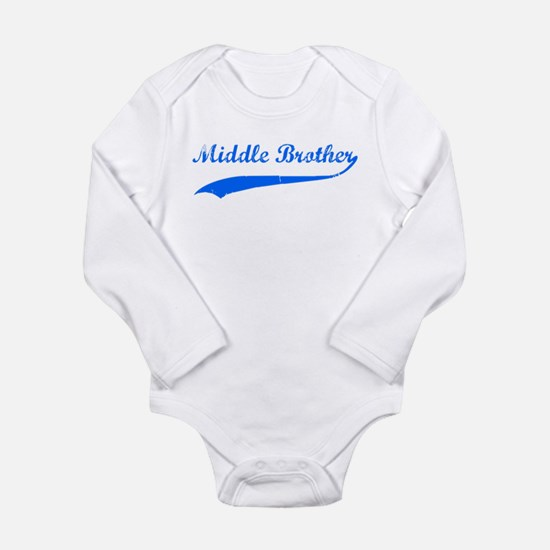 Middle Brother Onesie Romper Suit
