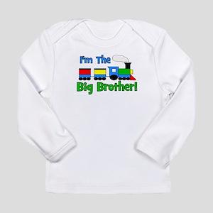 Big Brother TRAIN Long Sleeve Infant T-Shirt