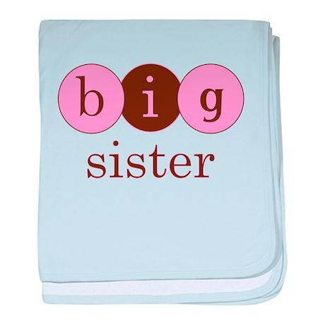 Big Sister (Circles) baby blanket