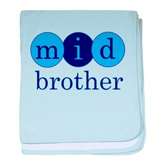 Mid Brother (Middle Brother C baby blanket