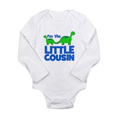 I'm The LITTLE Cousin! Dinosa Long Sleeve Infant B