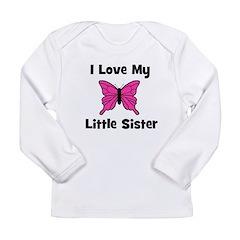 Love My Little Sister (butter Long Sleeve Infant T