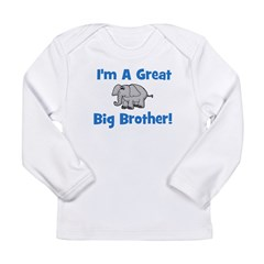 Great Big Brother Long Sleeve Infant T-Shirt