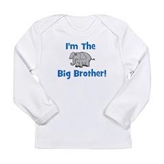 I'm The Big Brother (elephant Long Sleeve Infant T