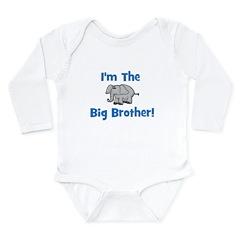 I'm The Big Brother (elephant Long Sleeve Infant B