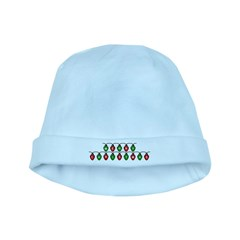 Merry Christmas - Lights baby hat