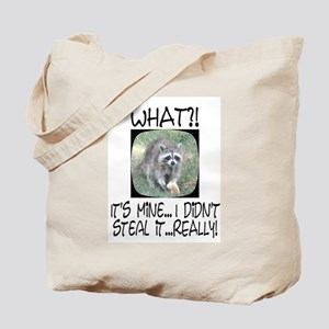 """I didn't steal it... Really!"" Raccoon T"
