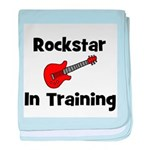Rockstar In Training baby blanket