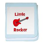 Little Rocker with Guitar baby blanket