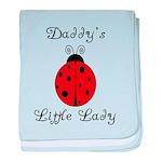 Daddy's Little Lady! Ladybug baby blanket