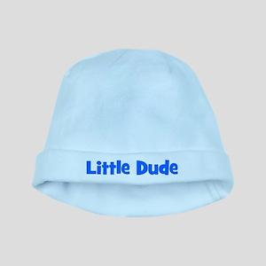 Little Dude - Blue baby hat