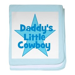 Mommy's Little Cowboy baby blanket