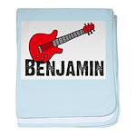 Guitar - Benjamin baby blanket