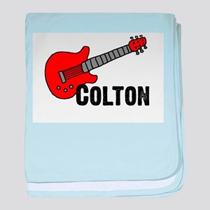 Guitar - Colton baby blanket