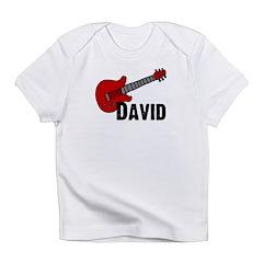 Guitar - David Infant T-Shirt
