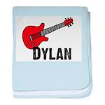 Guitar - Dylan baby blanket