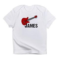 Guitar - James Infant T-Shirt