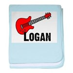 Guitar - Logan baby blanket