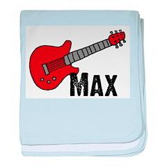 Guitar - Max baby blanket
