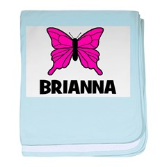 Butterfly - Brianna baby blanket