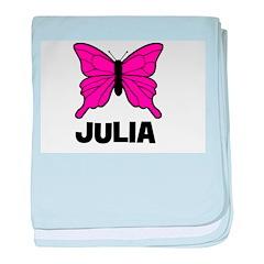 Butterfly - Julia baby blanket