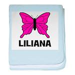 Liliana - Butterfly baby blanket
