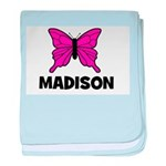 Butterfly - Madison baby blanket