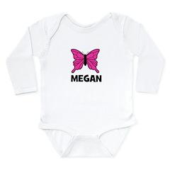 Butterfly - Megan Long Sleeve Infant Bodysuit