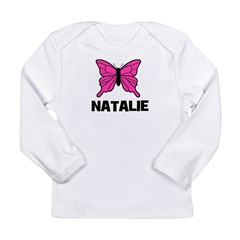 Butterfly - Natalie Long Sleeve Infant T-Shirt