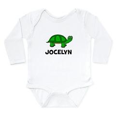 Jocelyn Turtle Gift Long Sleeve Infant Bodysuit