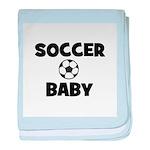 Soccer Baby baby blanket