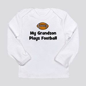 My Grandson Plays Football Long Sleeve Infant T-Sh