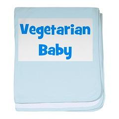 Vegetarian Baby - Multiple Co baby blanket