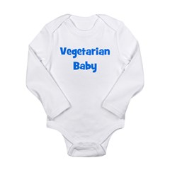 Vegetarian Baby - Multiple Co Long Sleeve Infant B