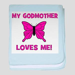 My Godmother Loves Me! - Butt baby blanket