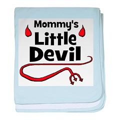 Mommy's Little Devil baby blanket